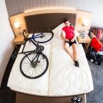Schlafzimmer - Bikehotel Willingen