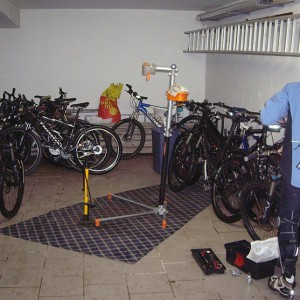 Mountain Bike Trockenraum Willingen
